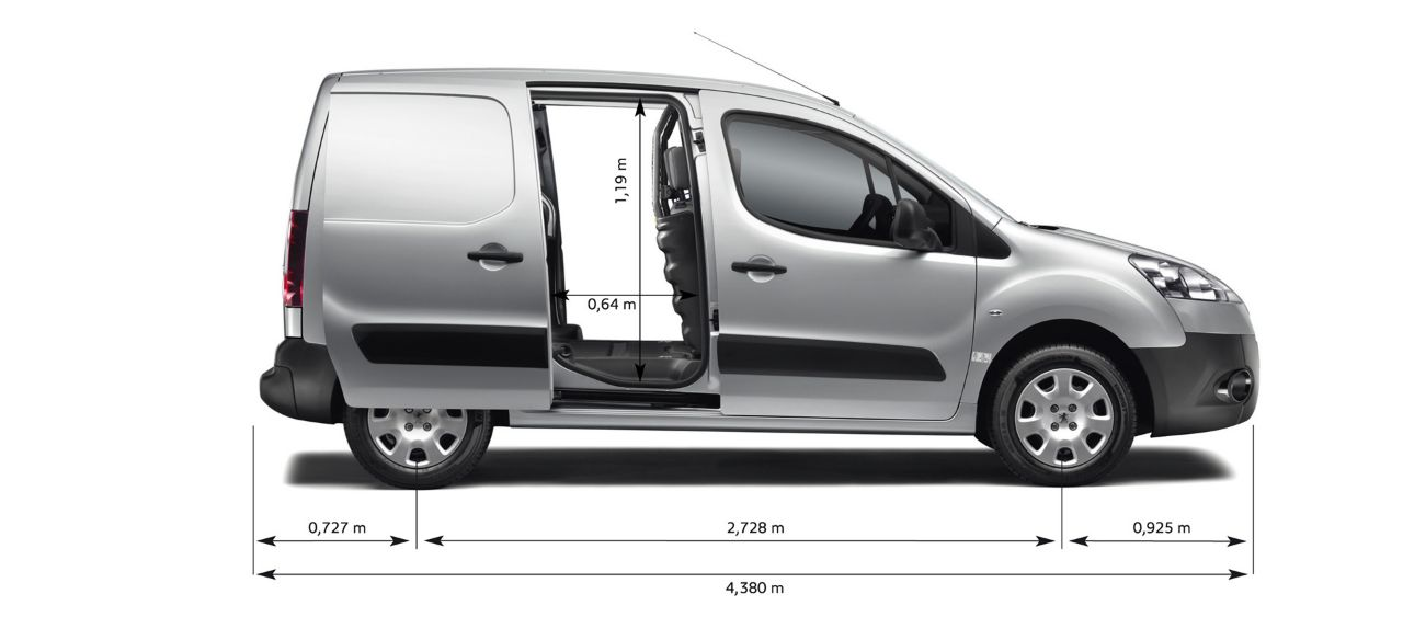 peugeot partner l1 diesel 625 1.6 hdi 75 professional van - world